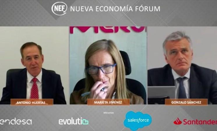 Marieta Jiménez participa en el Fórum Nueva Economía